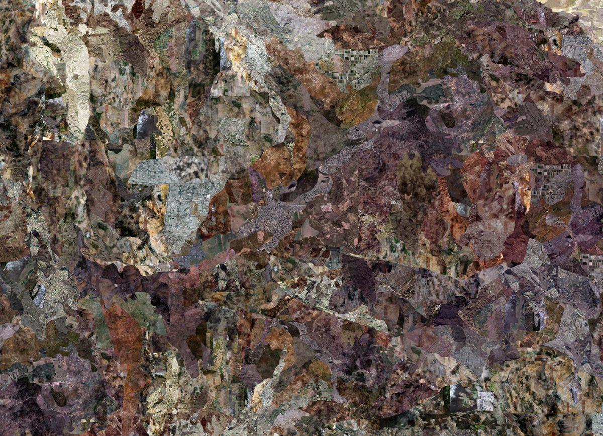 Alex Grein, Terra / Arizona (Detailansicht), 2010, C-Print, 100 x 100 cm