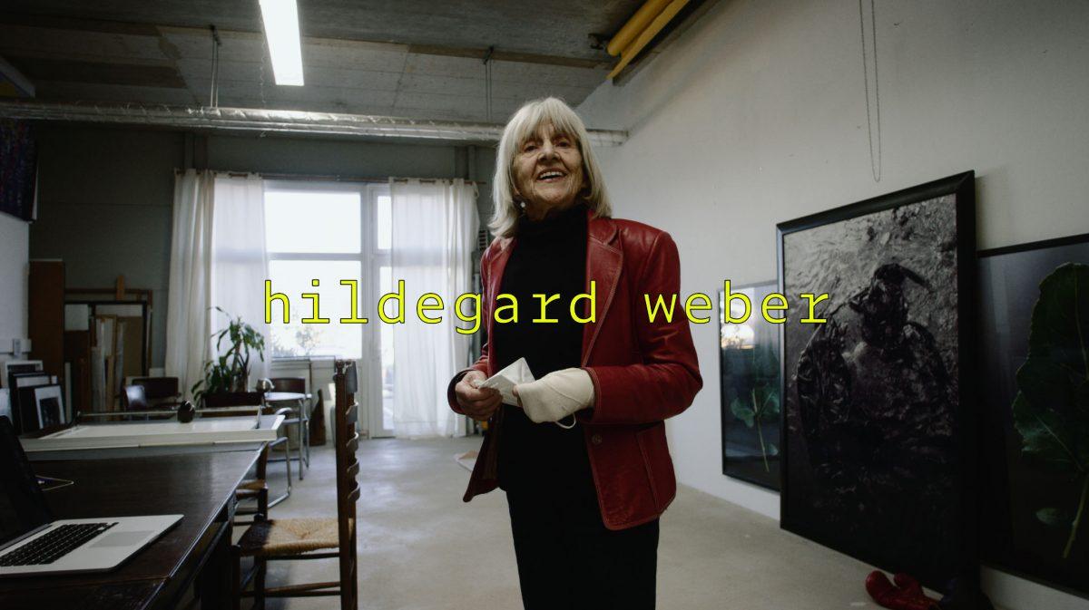 Hildegard Weber im Künstlerportrait