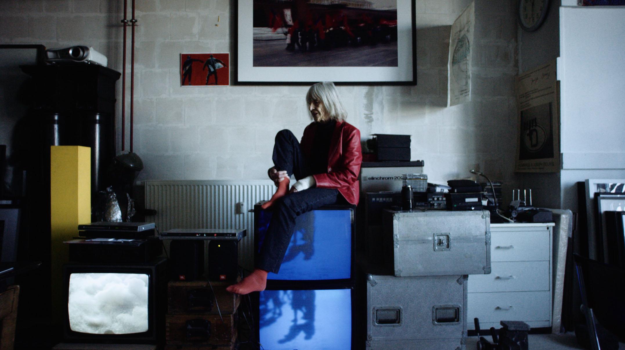 Hildegard Weber in ihrem Atelier im Quartier am Hafen